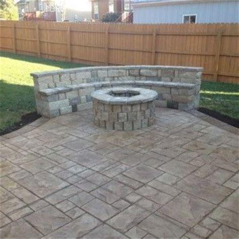 best 25 concrete patio cost ideas on