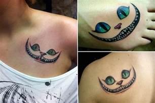Cheshire Cat Smile Tattoo