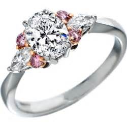 pink wedding rings pink diamonds engagement rings from mdc diamonds nyc