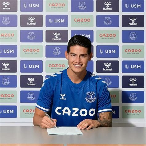 James Rodriguez speaks out after Everton announce transfer ...