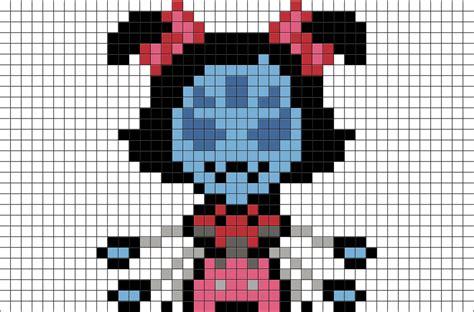 Undertale Muffet Pixel Art
