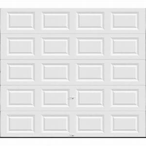 clopay value series 9 ft x 8 ft non insulated solid With 9 x 7 insulated garage door prices