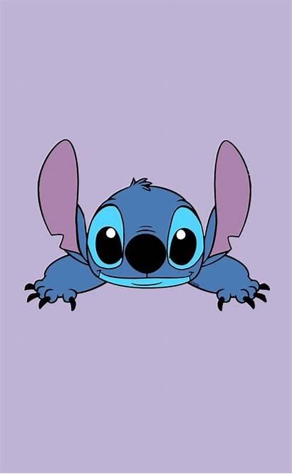 Stitch Wallpapers Aesthetic Disney Iphone Lilo Cartoon