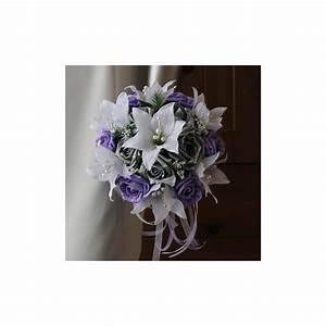 Bouquet De La Mariée : bouquet mari e rond avec lys et roses fuchsia ou parme et ~ Melissatoandfro.com Idées de Décoration