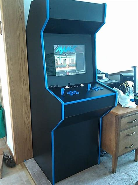 diy arcade cabinet build your own arcade cabinet plans woodworking projects