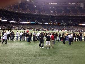 Mercedes Benz Superdome Section 116 Row 1 Seat 23 New