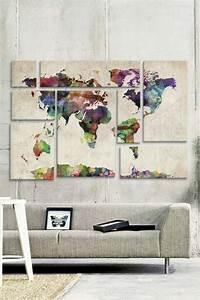 Fotos Als Collage : leinwandbilder xxl 60 wundersch ne ideen f r wanddeko ~ Markanthonyermac.com Haus und Dekorationen