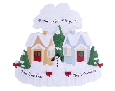 from our house to yours personalized ornament