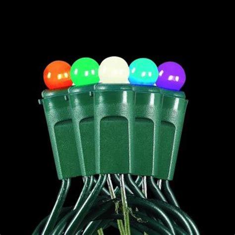 martha stewart living 50 light led multi color mini smooth