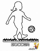 Coloring Soccer Pages Sports Player Football Colouring Boys Sport Colour Spelunker Sketch Futbol Template sketch template