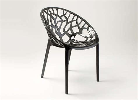 chaise plastique noir chaise design en plastique achatdesign