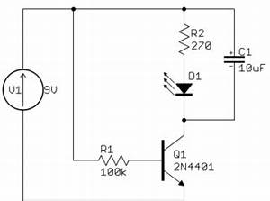 led simple transistor capacitor circuit question With of electronic capacitor and it39s use electrical and electronic