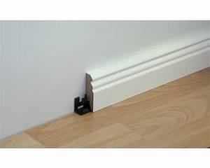 Sockelleisten Holz Weiß : sockelleiste weiss 60x18x2600 mm bei hornbach kaufen ~ Watch28wear.com Haus und Dekorationen