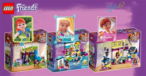 Review Lego Friends 2018, Partie 1  Les Chambres