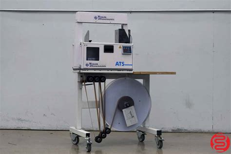 wexler ats ce  automatic banding machine  boggs equipment