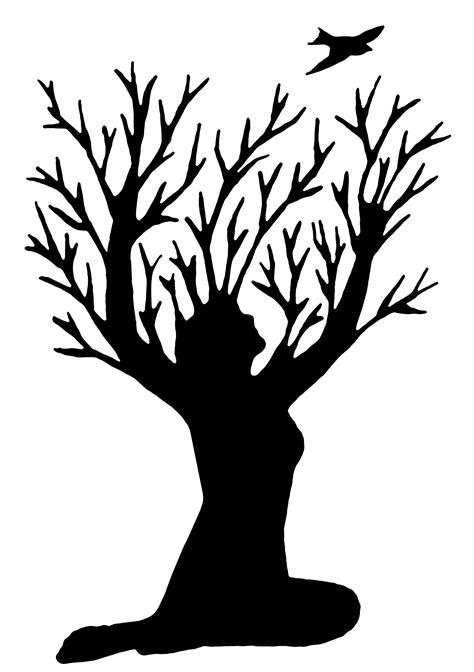 Tattoo Design - Woman & Tree on Behance