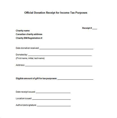 Donation Receipt Template 10 Donation Receipt Templates Doc Pdf Free Premium