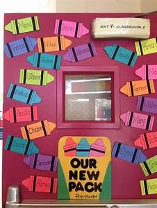 beginning of the year door decoration welcoming new