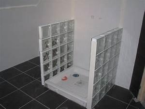 Douche Mur Verre : brique de verre pour douche finest fabrication de ~ Zukunftsfamilie.com Idées de Décoration