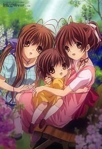family, Clannad After Story, Furukawa Nagisa, Okazaki ...