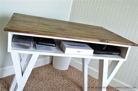 how to make your own desk diy farmhouse modern desk with open front storage cubby