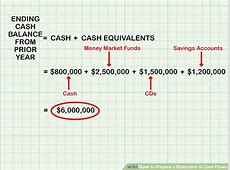 How to Prepare a Statement of Cash Flows 13 Steps with