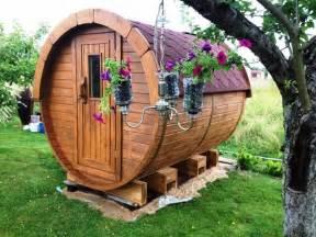 Fass Als Gartenhaus : sauna fass traum sauna f r ihren garten in grafing sauna solarium und zubeh r kaufen und ~ Markanthonyermac.com Haus und Dekorationen