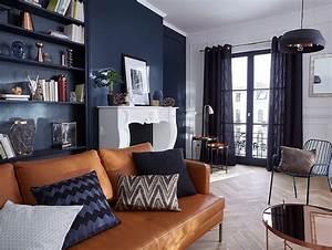 quelle couleur pour un salon plein de style tons fonces With quelle peinture pour un salon