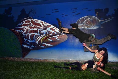 grouper goliath hunting urban