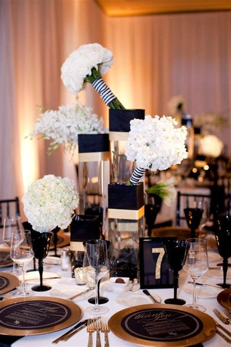 37 black and gold wedding ideas weddingomania