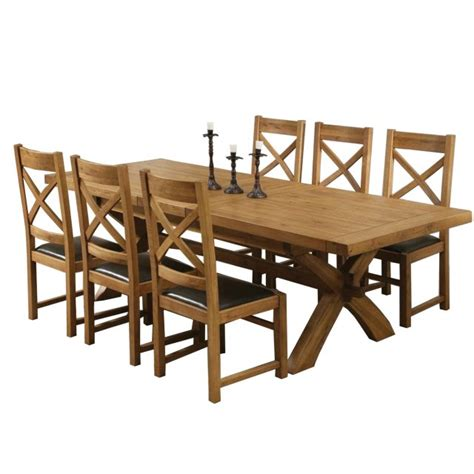 provence dining table and chairs provence solid oak dining table 6 chairs online at aldiss