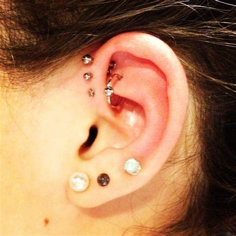 helix piercing information guide  awesome images
