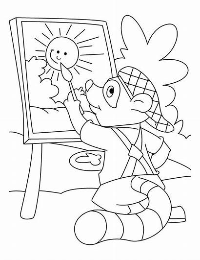 Raccoon Coloring Pages Chester Sheet Mario Animals