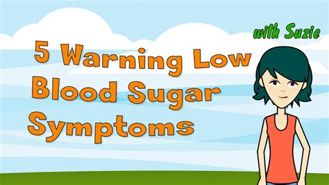 warning  blood sugar symptoms dangerous blood sugar