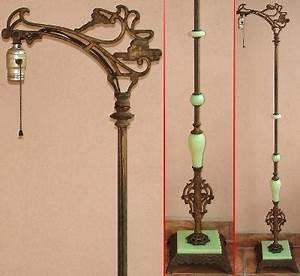 bridge arm floor lamp google search 20s era decor With antique jade floor lamp