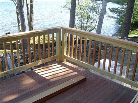The organization has also developed checklists and safety awareness information for consumers to assure they have details available to them to evaluate their decks. Home Elements And Style Styles Of Deck Railings T-rex Railing Simple Ideas Stair Code Diy Wood ...