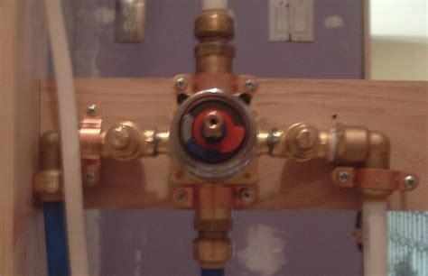 Shower Valve Installation Problem  Plumbing  Diy Home