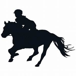 Horse And Rider Running Silhouette | www.imgkid.com - The ...
