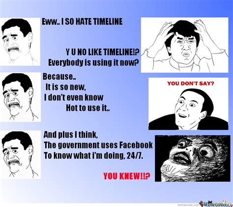 Meme Timeline - timeline by a cheese meme center