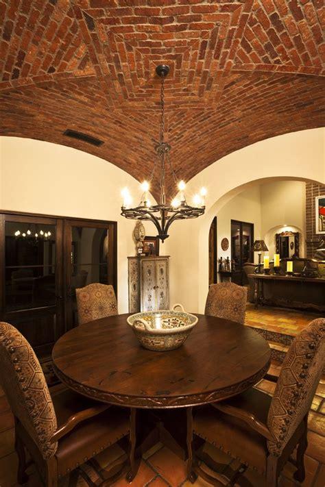 boveda ceiling   dining room casas pequenas