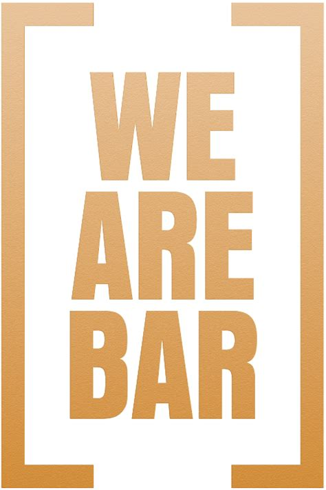 We Bar Bars by Welcome To We Are Bar