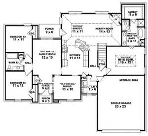 one bedroom house floor plans single open floor plans one 3 bedroom 2 bath traditional style house