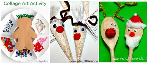 christmas craft for 3 year olds 25 easy to make preschool crafts