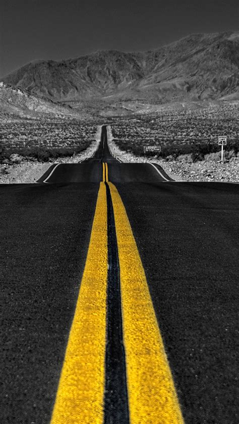 Infinity Road Wallpaper For Iphone X, 8, 7, 6 Free
