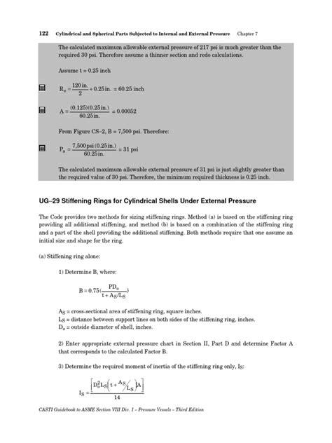 Stiffening Rings | Pressure | Welding
