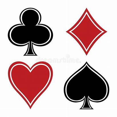 Card Playing Suits Spade Heart Diamond Cards