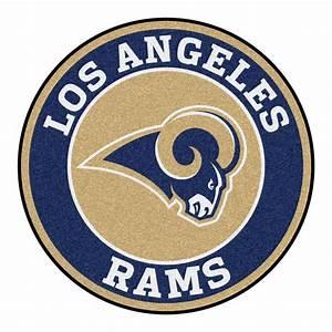 FANMATS NFL Los Angeles Rams Navy 2 ft 3 in x 2 ft 3 in