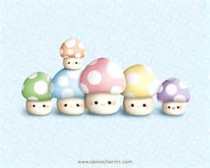 Cute Mushroom Drawings