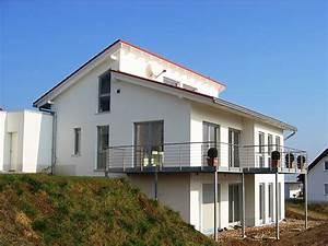 Haus Mit Pultdach : haus bauen in hanglage die neuesten innenarchitekturideen ~ Lizthompson.info Haus und Dekorationen