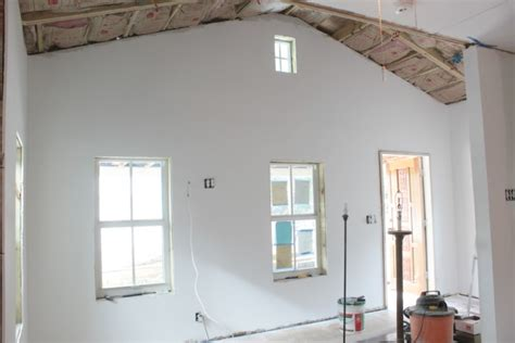 finishing drywall on ceiling my thoughts on installing drywall when you re working with